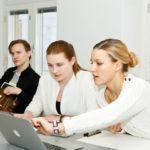 Opiskelua Teho-Opiston valmennuskurssilla