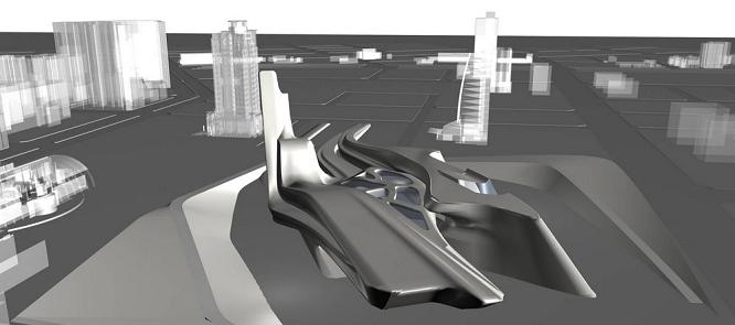 Tältä näyttää Zaha Hadidin ehdotus Guggenheim-museoksi Taichungiin, Taiwaniin