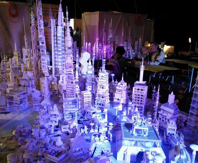 Kalastaman LEGO Manhattan, Habitare 2012