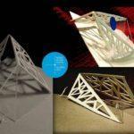 Piirustuskilpailun 2012 Designpaakaupungin infopaviljonki voittajatyo Assi Lindholm
