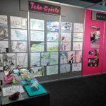 Teho-Opiston taidenayttely Studia messuilla 2012