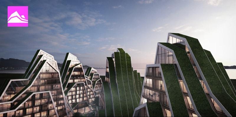Teho-Opistolta Oulun yliopiston arkkitehtuuriulle ponnistanut Santtu Hyvärinen on työharjoittelussa Kööpenhaminan Bjarke Ingels Groupilla. Kuvassa BIGin suunnittelema kerrostalokokonaisuus Taiwaniin.
