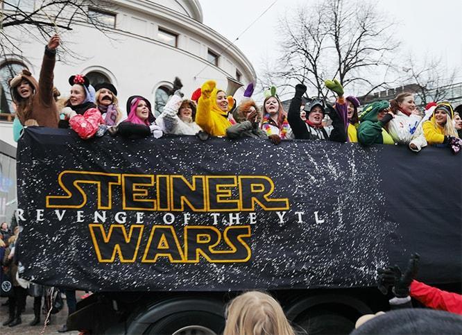 Penkkarit Steiner Wars - Revenge of the YTL