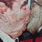 Berliinin arkkitehtuuri sykähdyttää, kuva Berliinin muurilta