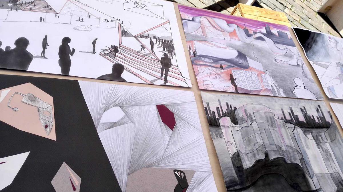 kauppatori-taidenayttely-opiskelijat-8