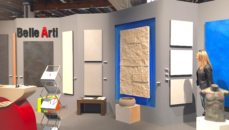 bellearti habitare 2016 teollisuushenkisiä pintoja betoni sementti kalkkimaali design-muotolevyjä mikrosementti