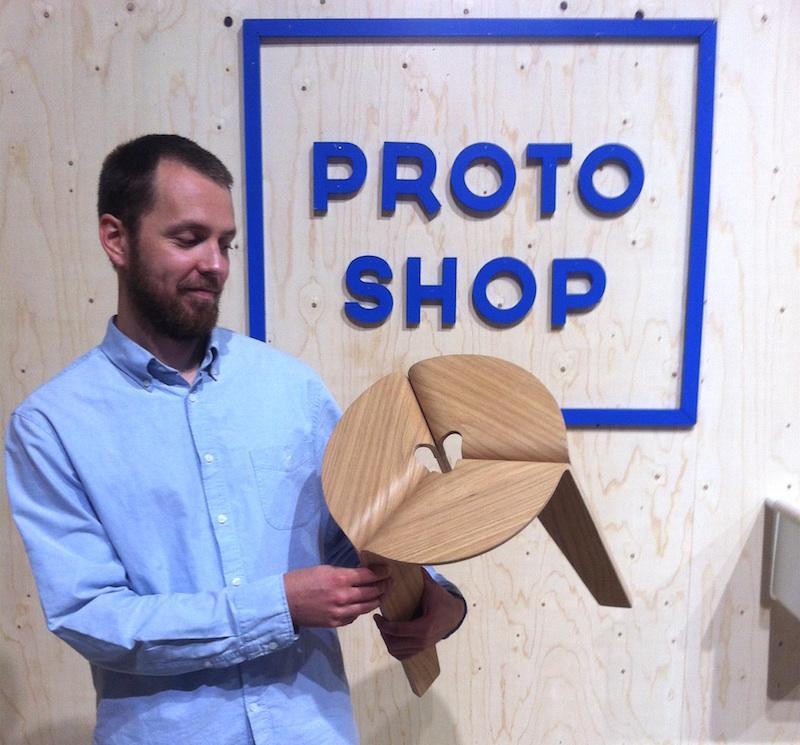 Carlo Rayman, Party-jakkara, Protoshop-palkinnon voittaja, Habitare 2016