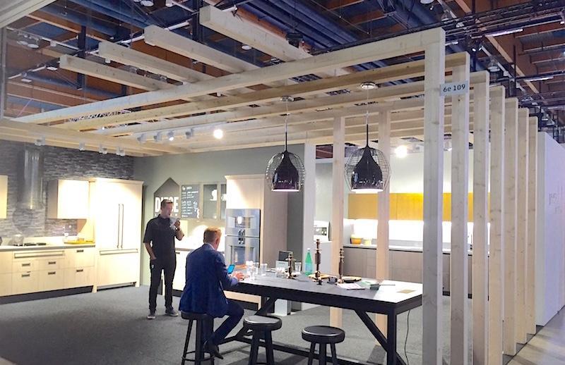 Dieselin ja Scavolinin osasto Habitare 2016 -messuilla, Helsingin Messukeskuksessa