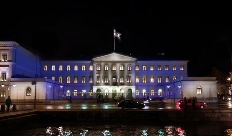 Lux Helsinki 2017, Lux arkkitehtuuri – Kauppatorin julkisivut