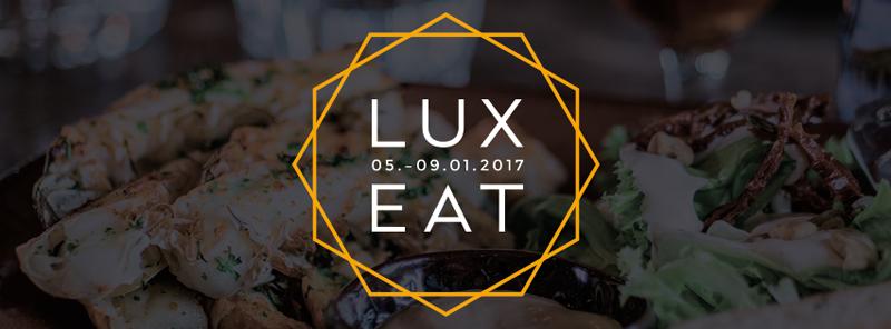 Lux Eat -ruokatapahtuma 5.–9.1.2017