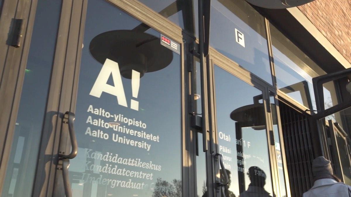 Aalto-yliopisto paaovi