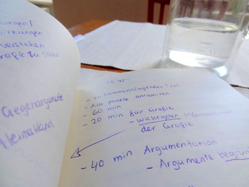 Saksan opiskelua ennakkotehtävien jälkeen