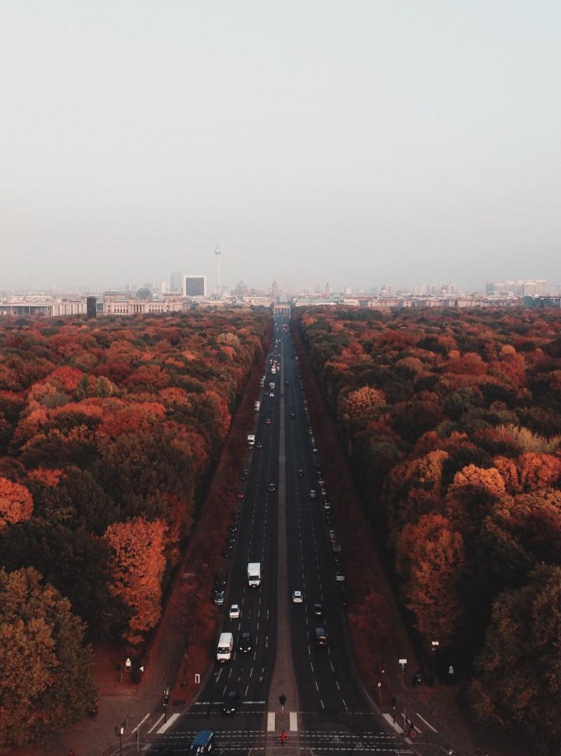 Berliinin arkkitehtuuri sykähdyttää