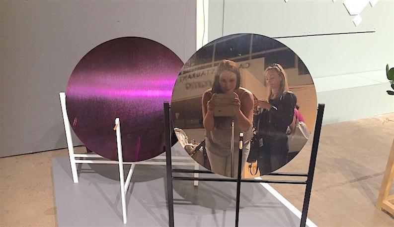 Kuu-sarjan pöydät, Elina Ulvio, Habitare 2016