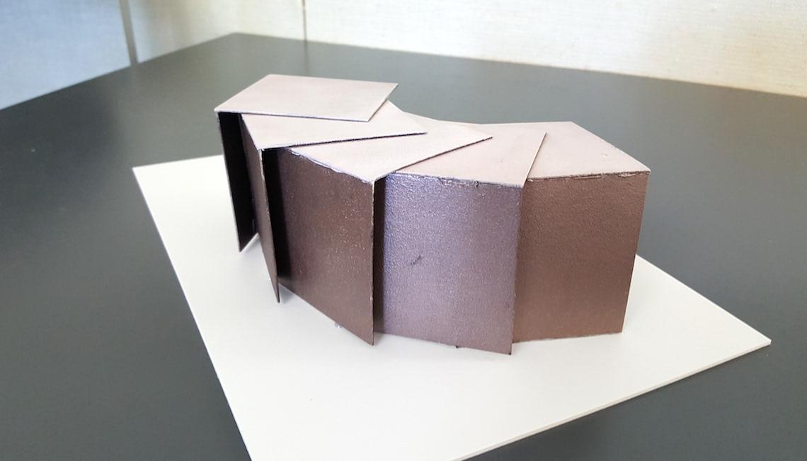 Kolme väriä tilassa, Aalto-yliopisto sisustusarkkitehtuuri pääsykoetehtävä, Otto Kaipio 2017