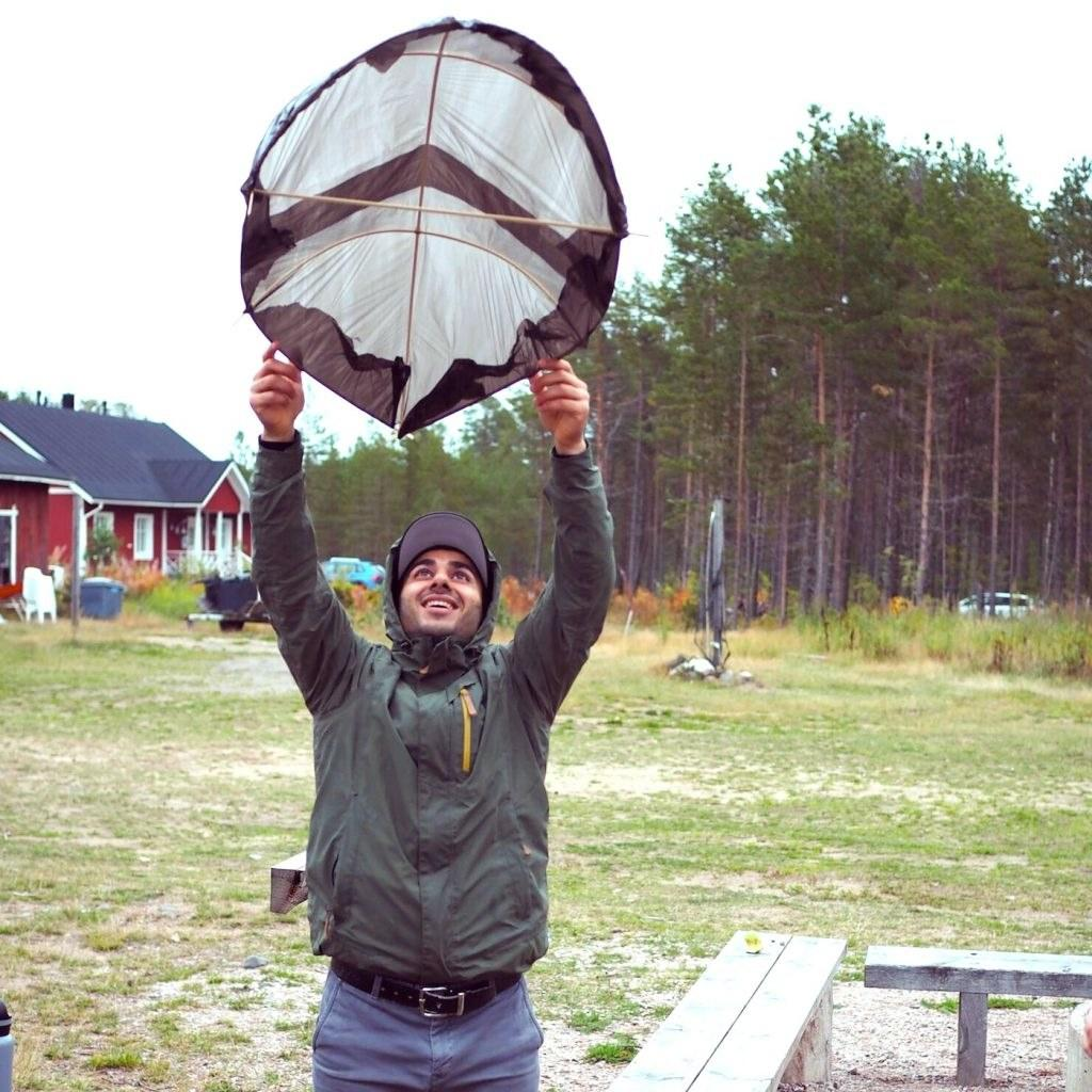 Aber Amiri. Arkkitehtiopiskelija. Kuva: Ella Pitkäkoski
