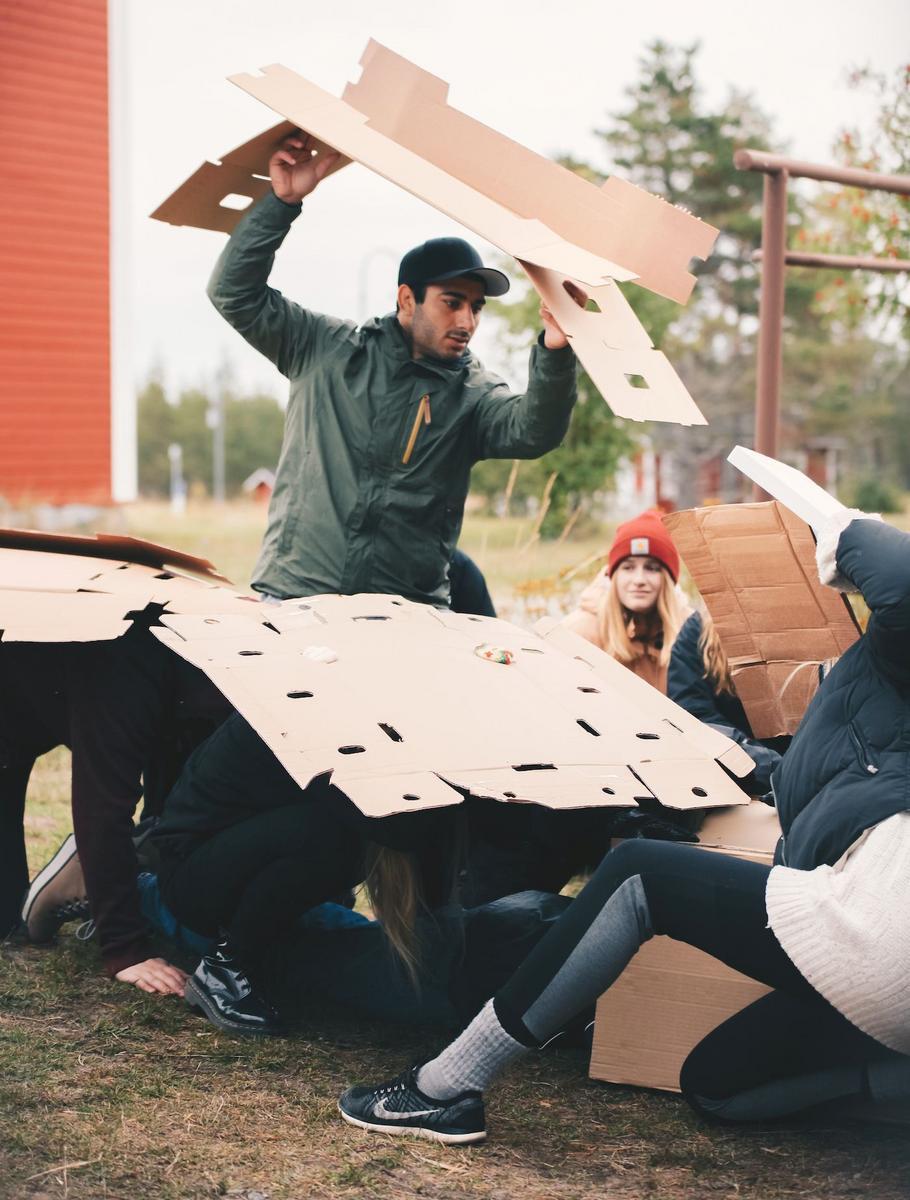 Aber Amiri, arkkitehtuuri opiskelija Oulun yliopisto. Kuva Ella Pitkäkoski