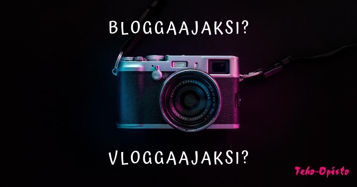 Opiskelijabloggaaja